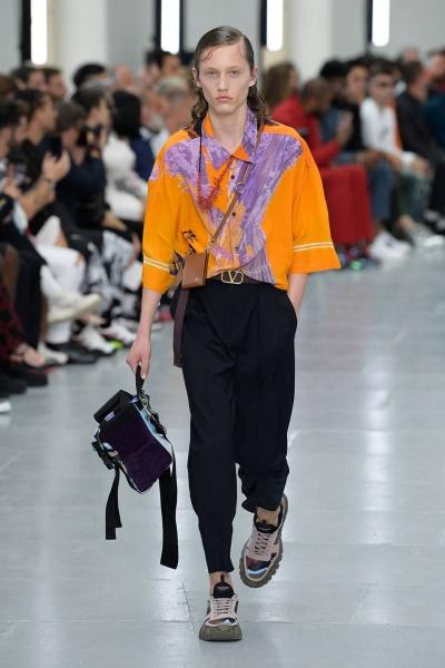 2020年春夏男装时装发布 - 巴黎<br>Valentino