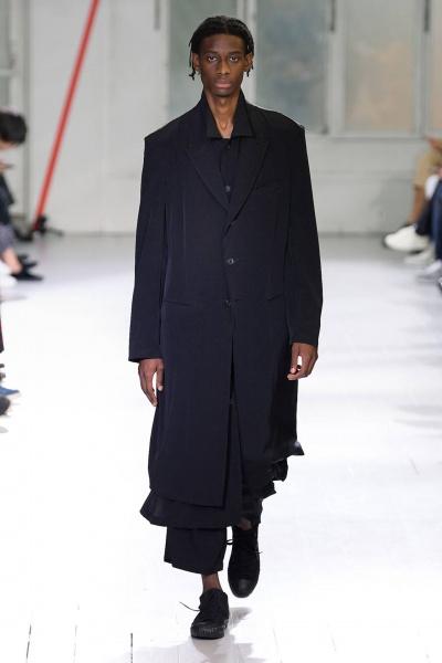Yohji Yamamoto2020春夏男装周