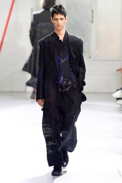 2020年春夏男裝時裝發布 - 巴黎<br>Yohji Yamamoto