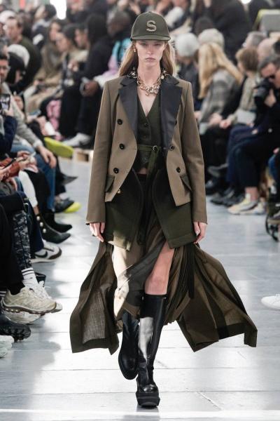 2020年秋冬男装时装发布 - 巴黎<br>Sacai
